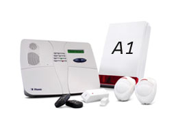 A1 Alarms,Wireless monitored systems from £99 and £18.99 per month