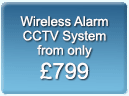 wireless alarm CCTV System from only  £799, Liverpool, Wirral, Southport, North West